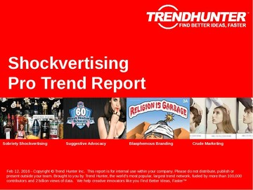 Shockvertising Trend Report and Shockvertising Market Research