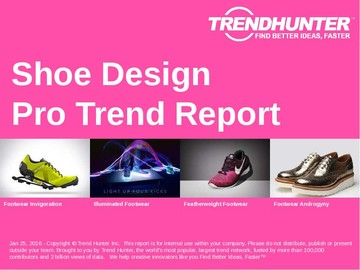 Shoe Design Trend Report and Shoe Design Market Research