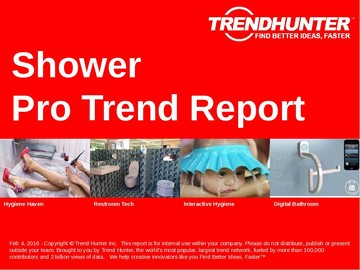 Shower Trend Report and Shower Market Research