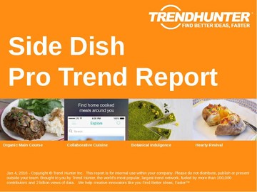 Side Dish Trend Report and Side Dish Market Research