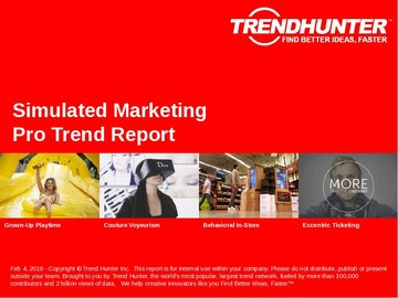 Simulated Marketing Trend Report and Simulated Marketing Market Research