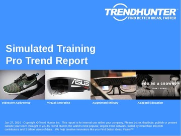 Simulated Training Trend Report and Simulated Training Market Research