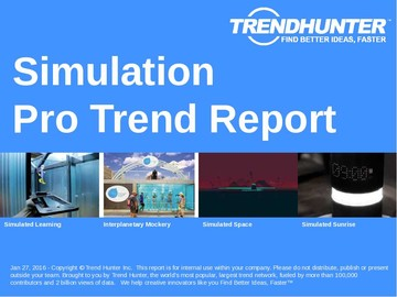 Simulation Trend Report and Simulation Market Research