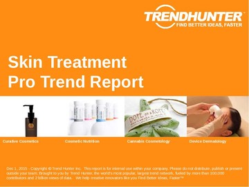 Skin Treatment Trend Report and Skin Treatment Market Research