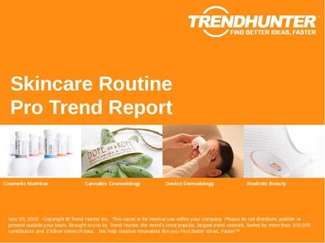Skincare Routine Trend Report and Skincare Routine Market Research