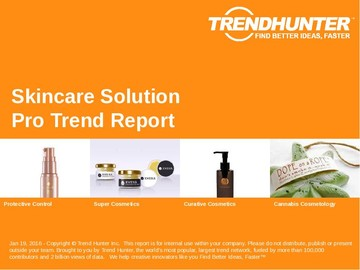 Skincare Solution Trend Report and Skincare Solution Market Research