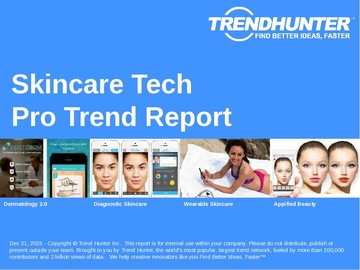 Skincare Tech Trend Report and Skincare Tech Market Research