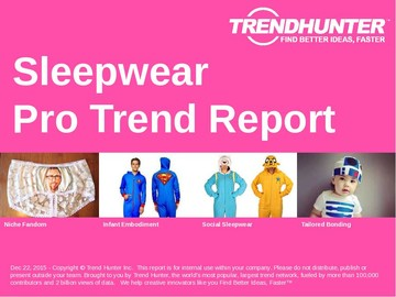 Sleepwear Trend Report and Sleepwear Market Research