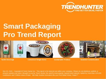 Smart Packaging Trend Report and Smart Packaging Market Research