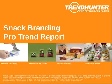 Snack Branding Trend Report and Snack Branding Market Research