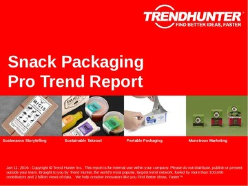 Snack Packaging Trend Report and Snack Packaging Market Research