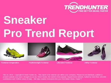 Sneaker Trend Report and Sneaker Market Research