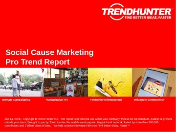 Social Cause Marketing Trend Report and Social Cause Marketing Market Research