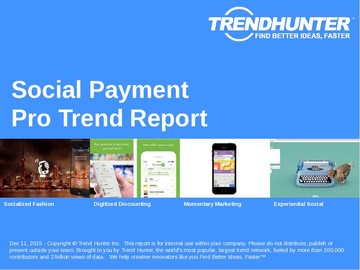 Social Payment Trend Report and Social Payment Market Research