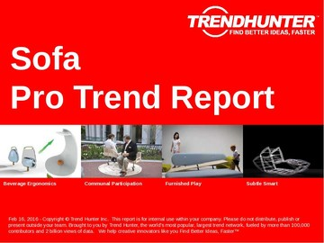 Sofa Trend Report and Sofa Market Research