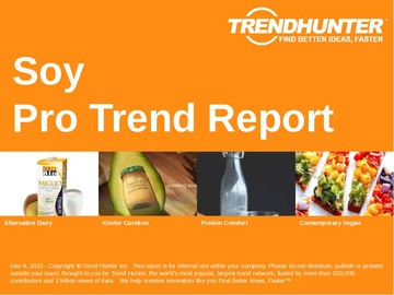 Soy Trend Report and Soy Market Research
