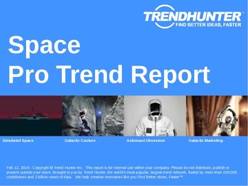 Space Trend Report and Space Market Research