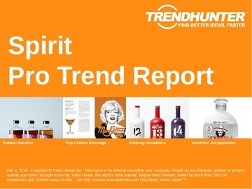 Spirit Trend Report and Spirit Market Research