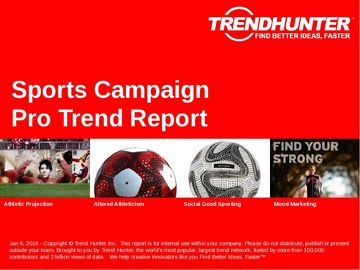 Sports Campaign Trend Report and Sports Campaign Market Research