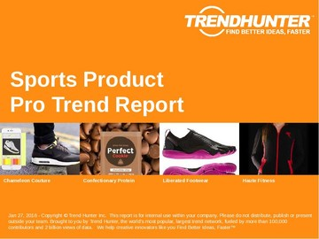 Sports Product Trend Report and Sports Product Market Research