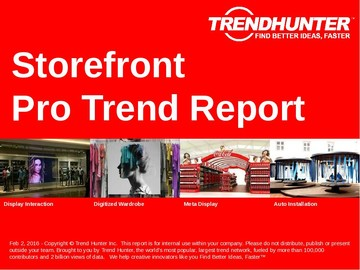 Storefront Trend Report and Storefront Market Research