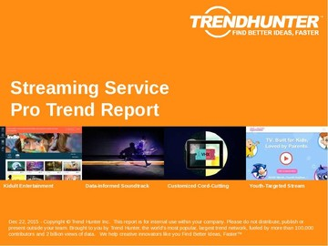 Streaming Service Trend Report and Streaming Service Market Research