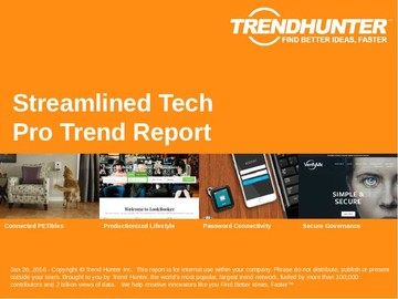 Streamlined Tech Trend Report and Streamlined Tech Market Research