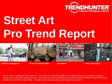 Street Art Trend Report and Street Art Market Research