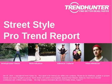 Street Style Trend Report and Street Style Market Research