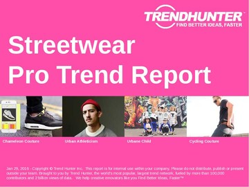Streetwear Trend Report and Streetwear Market Research