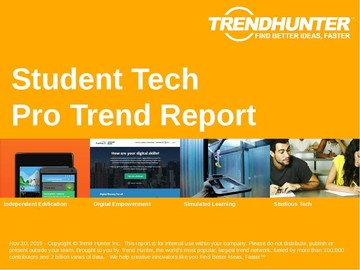 Student Tech Trend Report and Student Tech Market Research
