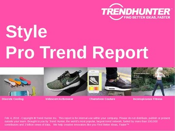 Style Trend Report and Style Market Research
