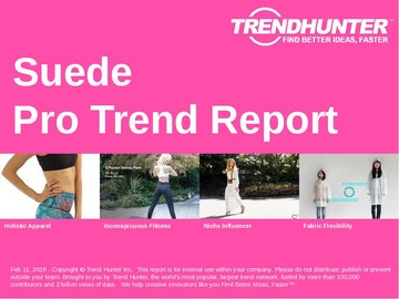 Suede Trend Report and Suede Market Research