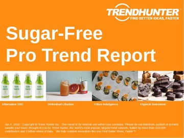 Sugar Free Trend Report and Sugar Free Market Research