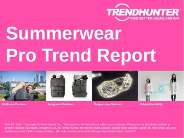 Summerwear Trend Report and Summerwear Market Research