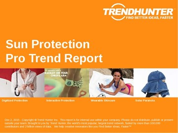 Sun Protection Trend Report and Sun Protection Market Research