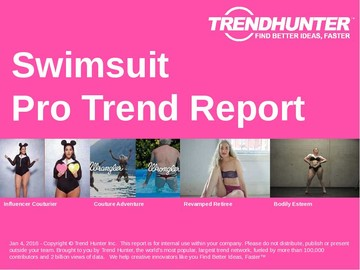 Swimsuit Trend Report and Swimsuit Market Research