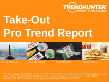 Take-Out Trend Report and Take-Out Market Research