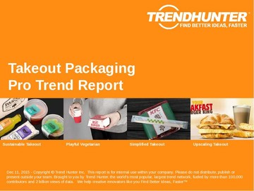 Takeout Packaging Trend Report and Takeout Packaging Market Research