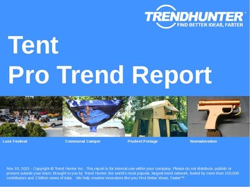 Tent Trend Report and Tent Market Research