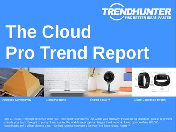 The Cloud Trend Report and The Cloud Market Research