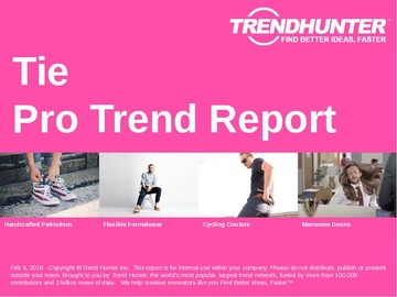 Tie Trend Report and Tie Market Research
