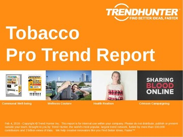Tobacco Trend Report and Tobacco Market Research