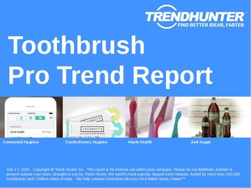 Toothbrush Trend Report and Toothbrush Market Research