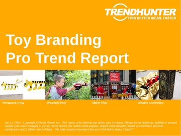 Toy Branding Trend Report and Toy Branding Market Research