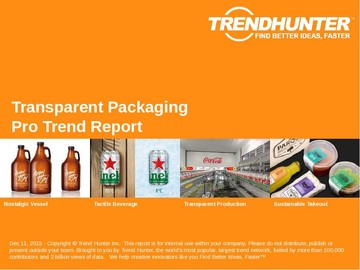 Transparent Packaging Trend Report and Transparent Packaging Market Research