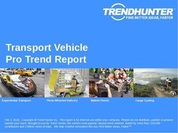 Transport Vehicle Trend Report and Transport Vehicle Market Research