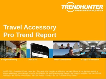 Travel Accessory Trend Report and Travel Accessory Market Research
