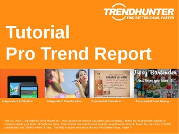 Tutorial Trend Report and Tutorial Market Research