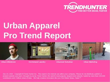Urban Apparel Trend Report and Urban Apparel Market Research